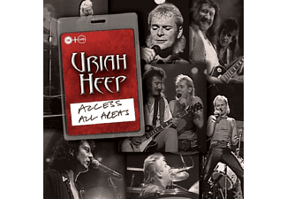 Uriah Heep - Access All Areas - (CD + DVD Video)