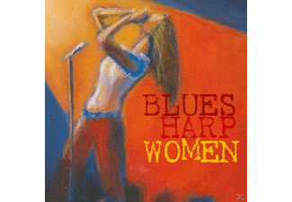 VARIOUS - Blues Harp Woman - (CD)