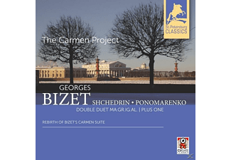 Ma.Gr.Ig.Al. Plus One Double Duet - The Carmen Project-Rebirth Of Bizet's Carmen Sui - (CD)