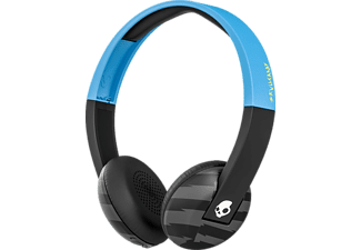 SKULLCANDY UPROAR, Over-ear Kopfhörer, Headsetfunktion, Bluetooth, Blau/Schwarz