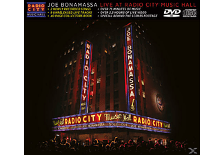 Joe Bonamassa - Live at Radio City Music Hall (CD+DVD) - (DVD + CD)