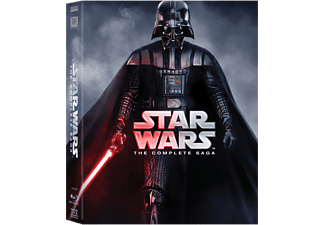 Star Wars: The Complete Saga Science Fiction Blu-ray