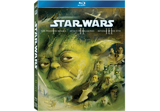 Star Wars The Prequel Trilogy Box Science Fiction Blu-ray