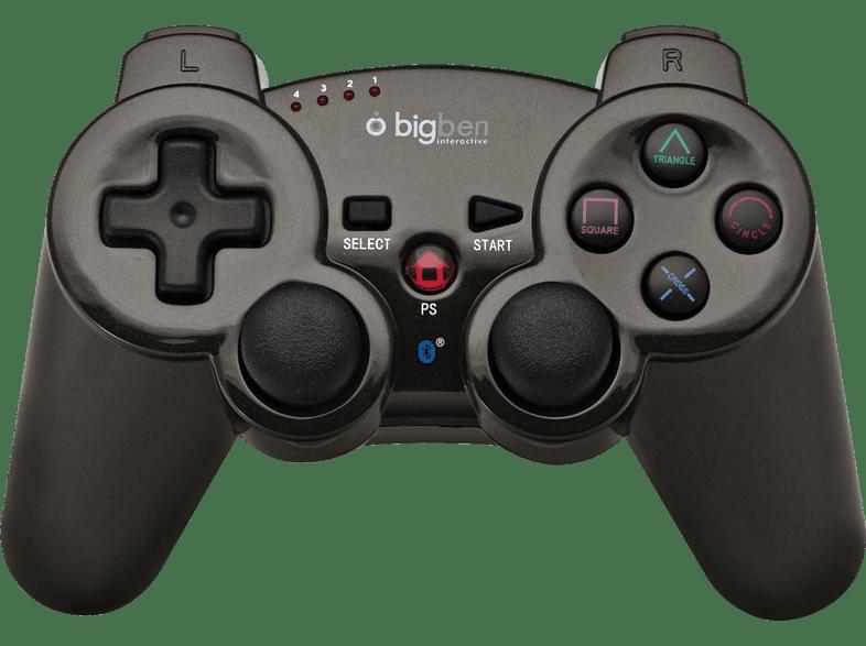 BIG BEN Bluetooth® Metallic Pad Titanium gaming απογείωσε την gaming εμπειρία αξεσουάρ ps3
