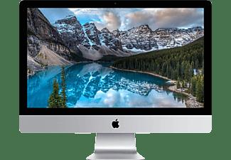 APPLE iMac mit Retina 5K Display mit deutscher Tastatur, All-in-One-PC mit 27 Zoll, IPS Display, 2 TB Speicher, 8 GB RAM, Core i5 Prozessor, Silber