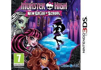 Monster High - New Ghoul In School | 3DS