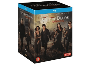 The Vampire Diaries - Seizoen 1-6 | Blu-ray