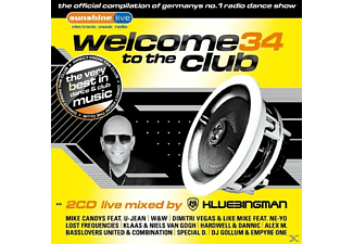 VARIOUS - Welcome To The Club 34 [CD]