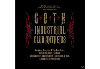 VARIOUS - Goth Industrial Club Anthems - (CD)