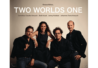 Cornelius Claudio Kreusch, Johannes Tonio Kreusch, Badi Assad, Jamey Haddad - Two Worlds One - (CD)