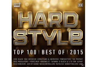 VARIOUS - Hardstyle Top 100-Best Of 2015 - (CD)