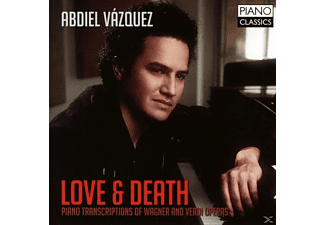 Abdiel Vazquez, VARIOUS - Love & Death-Piano Transcriptions - (CD)