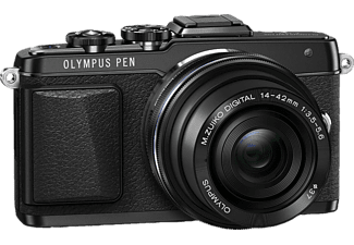 OLYMPUS E‑PL7 Kit Pancake EZ-M 14-42mm EZ Black - (V205073BE001)