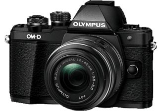 OLYMPUS E-M10 Mark II Kit Black +  Φακός EZ-M1442 IIR-(V207051BE00) Μαζί με OM-D Wrapping Case - (E0412178)