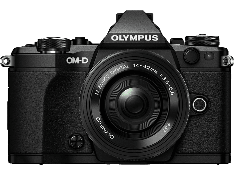 OLYMPUS E-M5 Mark II Pancake Kit EZ-M 14-42mm EZ Black - (V207044BE000) photo   video   offline φωτογραφικές μηχανές mirrorless cameras hobby   φωτογραφ