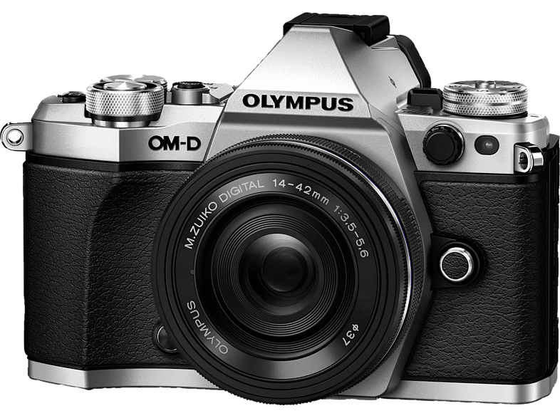 OLYMPUS E-M5 Mark II Pancake Kit EZ-M 14-42mm EZ Silver - (V207044SE000) photo   video   offline φωτογραφικές μηχανές mirrorless cameras hobby   φωτογραφ