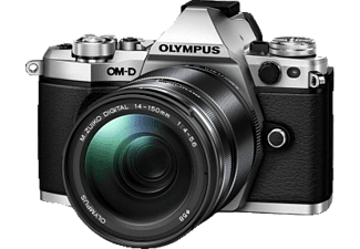 OLYMPUS E‑M5 Mark II Kit EZ-M 14-150mm II Silver - (V207043SE000)
