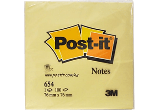 3M Post-İt Not Sarı 100 Yaprak 76x76mm