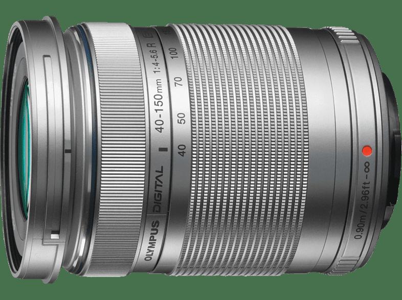 OLYMPUS M.ZUIKO DIGITAL ED 40‑150mm 1:4.0‑5.6 R Silver - (EZ-M4015R SLV) hobby   φωτογραφία φωτογραφικές μηχανές φακοί mirrorless photo   video   offline