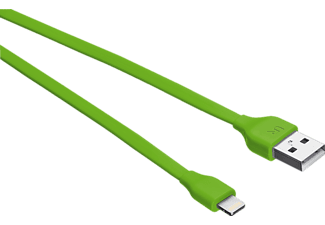TRUST 20130 UR USB-Kabel, passend für Apple iPhone 6 Plus, iPhone 6s Plus, Limegrün
