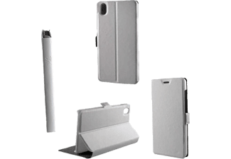 VOLTE-TEL Θήκη Lenovo A7000 Leather Book-Stand White  - (5205308152177)