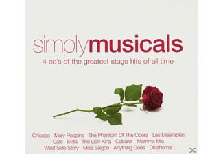 VARIOUS - Simply Musicals [CD]