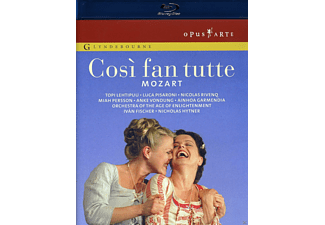 VARIOUS, Orchestra Of The Age Of Enlightenment, The Glyndenbourne Chorus - Cosi Fan Tutte - (Blu-ray)