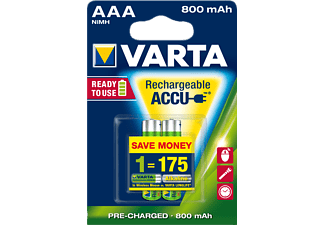 VARTA READY TO USE ACCUS (R2U) ΜΙΝΙ ΜΙΝΙΟΝ ΑΑΑ Ready2Use - (12840)