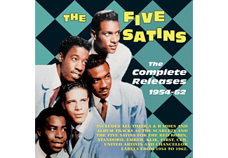 The Five Satins, The Scarlets - The Complete Releases 1954-62 - (CD)
