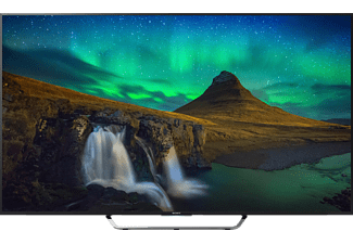 SONY KD65X8505 CBAEP LED TV (Flat, 65 Zoll, UHD 4K, 3D, SMART TV, Android TV)