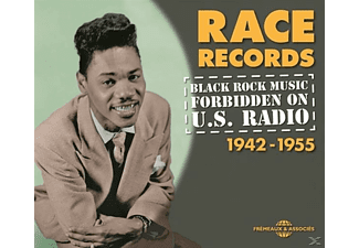 VARIOUS - Black Rock Music Forbidden On U.S.Radio 1942-1955 [CD]