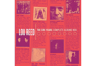 Lou Reed - The Sire Years - Complete Albums Box (CD)