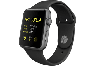 APPLE Watch Sport 42 mm - Space Grey Aluminium/Black