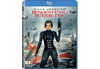 Resident Evil: Retribution Science Fiction Blu-ray