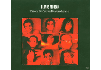 Blonde Redhead - Melody Of Certain Damaged Lemons - (CD)