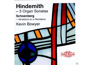 Kevin Bowyer - 3 ORGAN SONATAS - (CD)