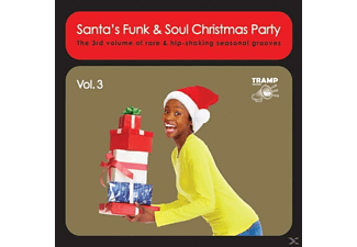 VARIOUS - Santa's Funk & Soul Christmas Party Vol.3 [CD]