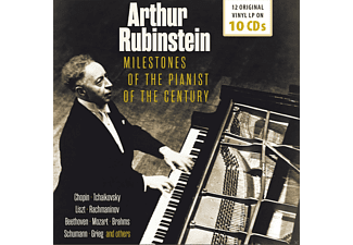 Arthur Rubinstein - Milestones Of The Pianist Of The Century - (CD)