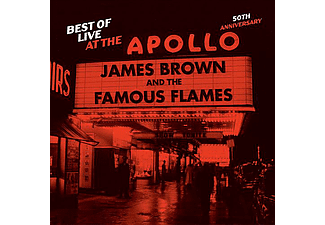 James Brown and The Famous Flames - Best of Live at the Apollo - 50th Anniversary (CD)