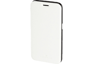 TOM TAILOR New Basic, Bookcover, Galaxy S6, Polyurethan (PU), Weiß