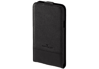 TOM TAILOR Structure, Flip Cover, Galaxy S5 Neo, Nylon/Polyurethan (PU), Schwarz