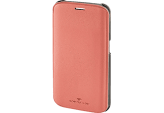 TOM TAILOR New Basic, Bookcover, Samsung, Galaxy S6 Edge, Polyurethan (PU), Flamingo-Pink