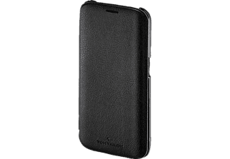 TOM TAILOR New Basic, Bookcover, Samsung, Galaxy S6 Edge, Polyurethan (PU), Schwarz