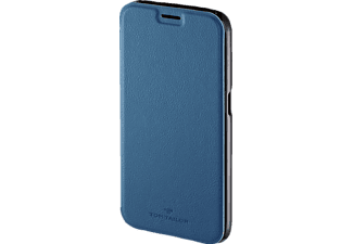 TOM TAILOR New Basic, Bookcover, Samsung, Galaxy S6, Polyurethan (PU), Skyblue