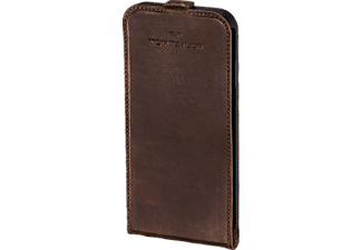 TOM TAILOR Authentic, Flip Cover, Apple, iPhone 6, iPhone 6s, Leder (Obermaterial), Braun