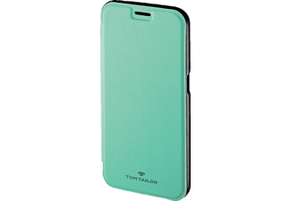 TOM TAILOR New Basic, Bookcover, Galaxy S6, Polyurethan (PU), Peppermint
