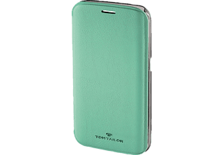 TOM TAILOR New Basic, Bookcover, Samsung, Galaxy S6 Edge, Polyurethan (PU), Peppermint