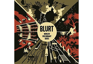 Blurt - Beneath Discordant Skies [CD]