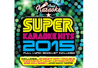 VARIOUS - Super Karaoke Hits 2015 [CD]