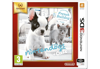 Nintendogs + Cats - French Bulldog & New Friends (Nintendo Selects) Nintendo 3DS
